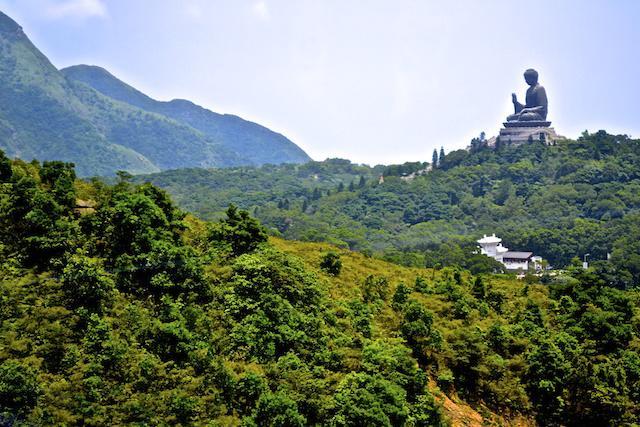 Buda Gigante em Hong Kong