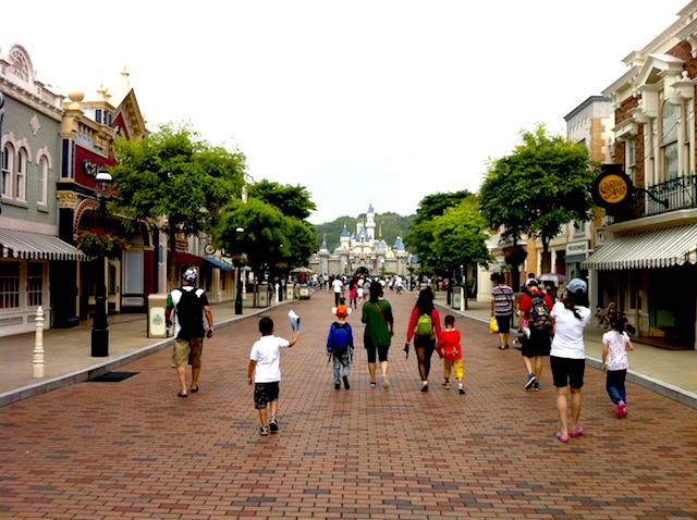 Main Street Disney Hong Kong