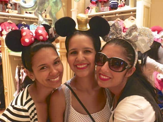 Nós na Disney Hong Kong
