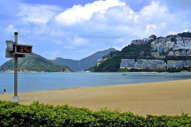 Praia em Hong Kong