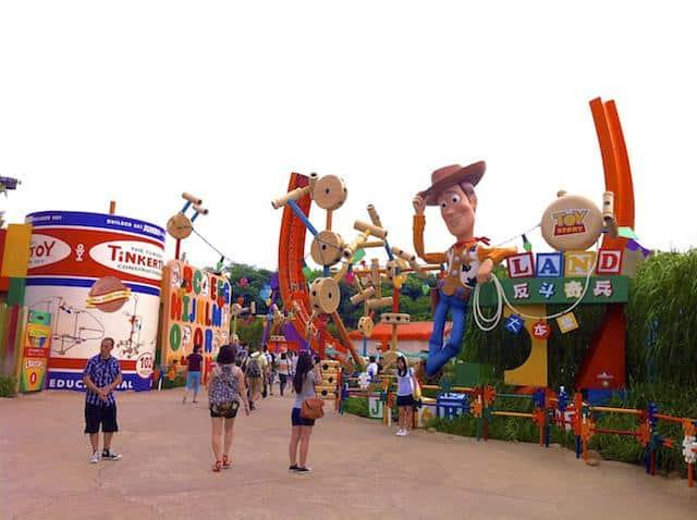 Toy Story Land Disney Hong Kong