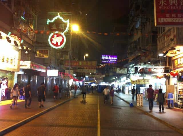hong kong noite
