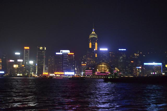 noite em Hong Kong