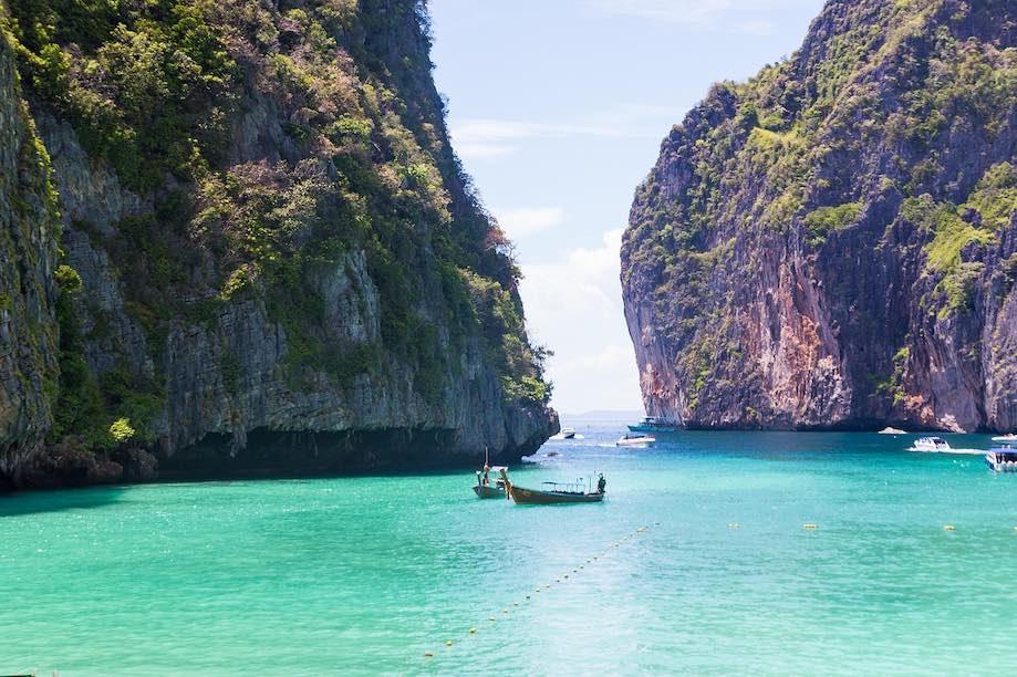 Maya Bay: Phi Phi ou Phuket