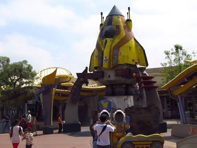 tomorrowland Disney Hong Kong