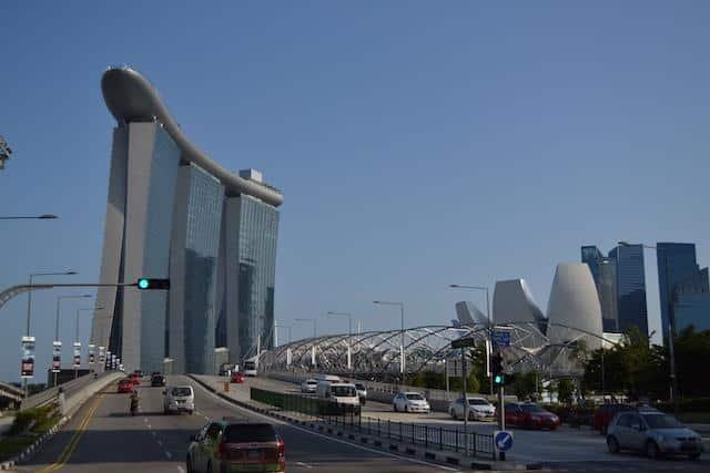 Entrada de Cingapura