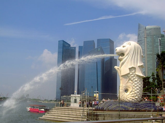 Merlion Cingapura