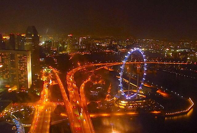 Noite em Cingapura