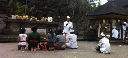 Os deuses de Bali, ilha hindu da Indonésia