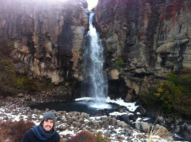 Cachoeira em Tongariro