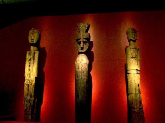 Museu de História PréColombiana em Santiago, Chile