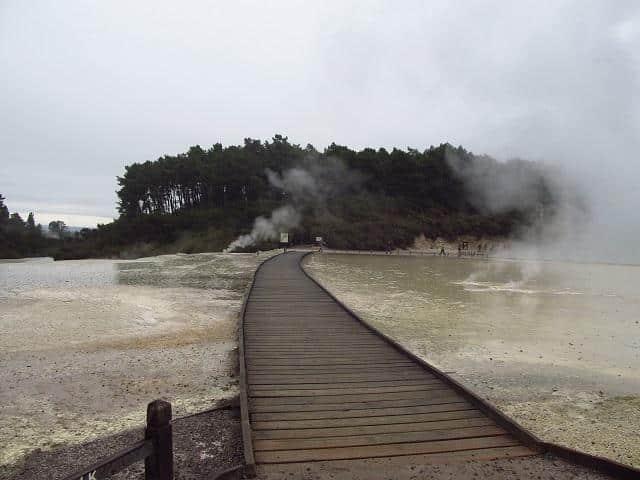Rotorua, na Nova Zelândia