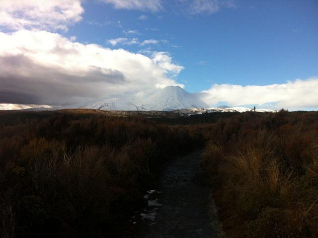 Tongariro caminhada