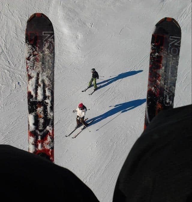 esquiar no chile - El Colorado