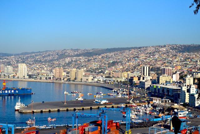 porto de valparaiso-no-chile