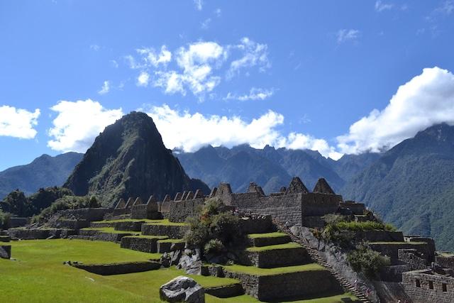 A montanha Machu Picchu, Peru