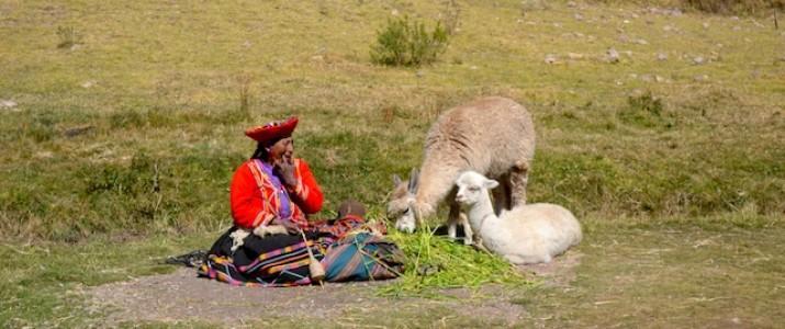 Mulher em Cuzco - Peru