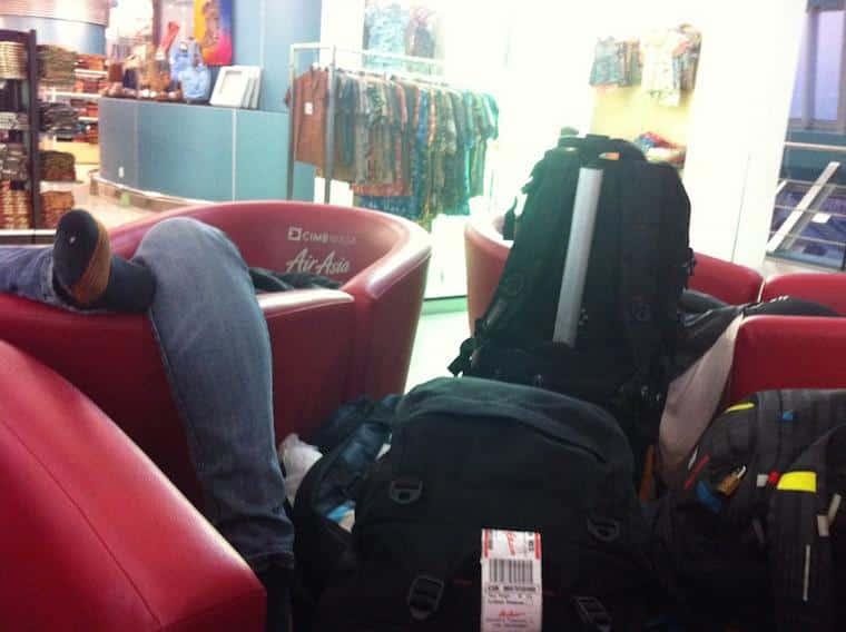 Dormir no aeroporto dicas