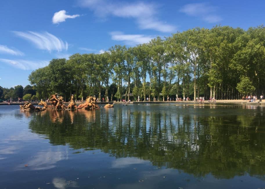Fonte de Apolo Jardins do Palacio de Versalhes
