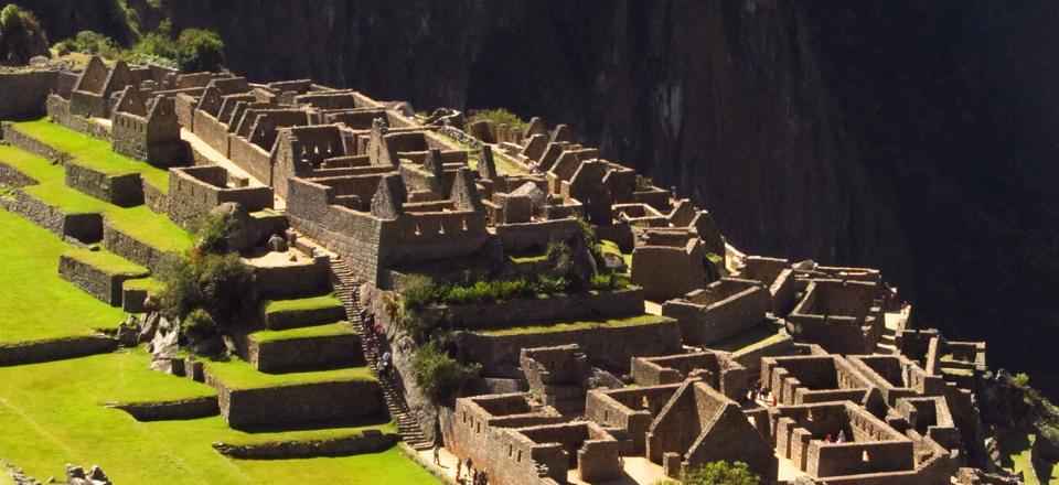 Machu Picchu conta a história dos incas