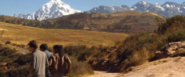 Montanhas do Vale Sagrado de Cuzco - Peru