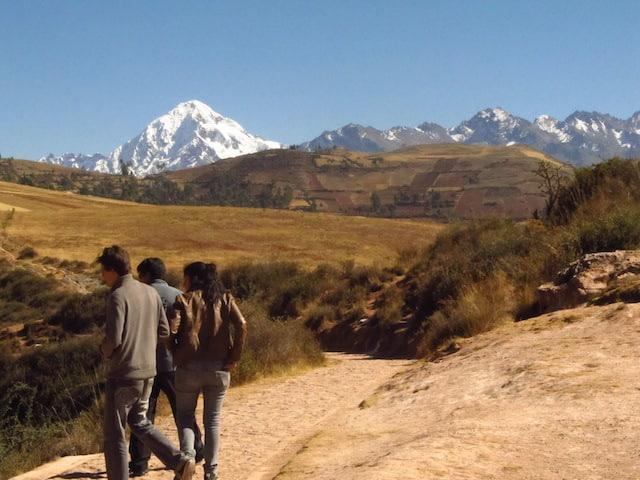 Montanhas do Vale Sagrado de Cuzco