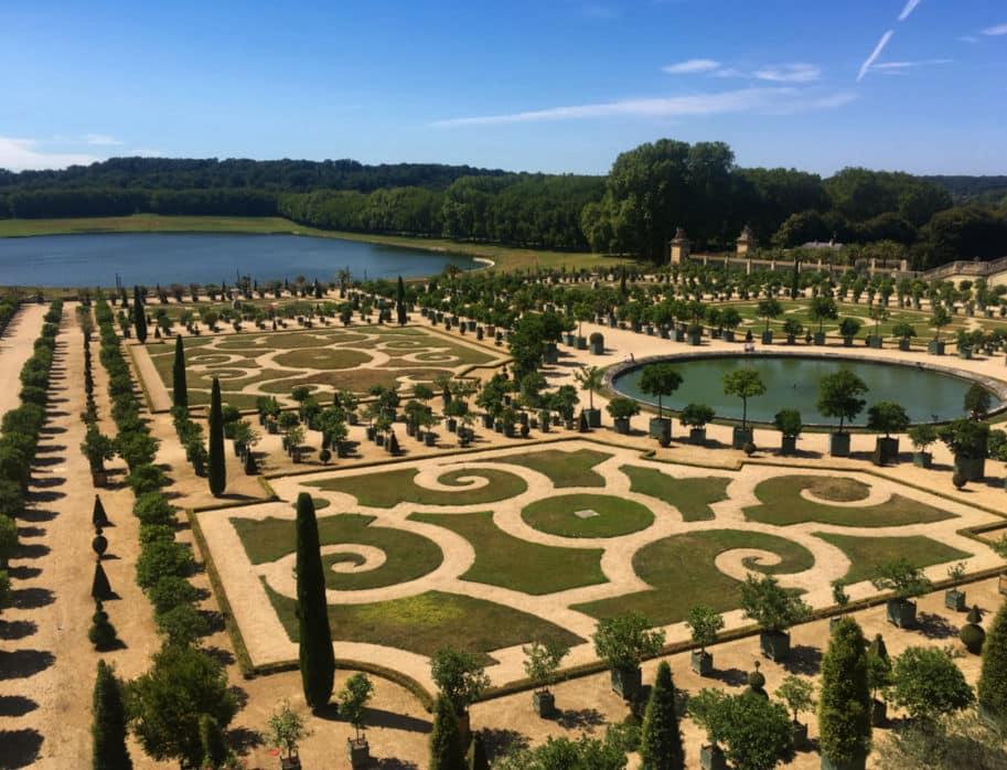 Orangerie Jardins do Palacio de Versalhes