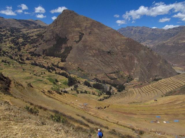 Vista do Vale Sagrado dos Incas, em Cuzco