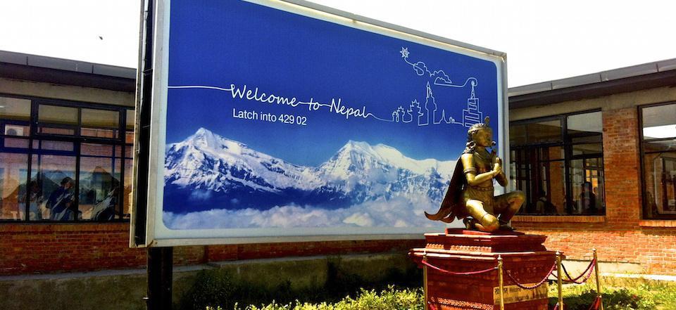 Aeroporto de Katmandu - Nepal