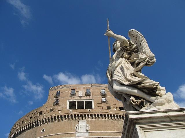 Castelo de Santo Angelo, Roma, Itália