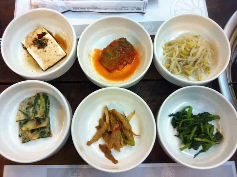 Onde comer no Liberdade Portal da Coreia