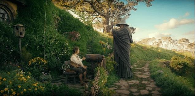 O Hobbit foi gravado na Nova Zelândia