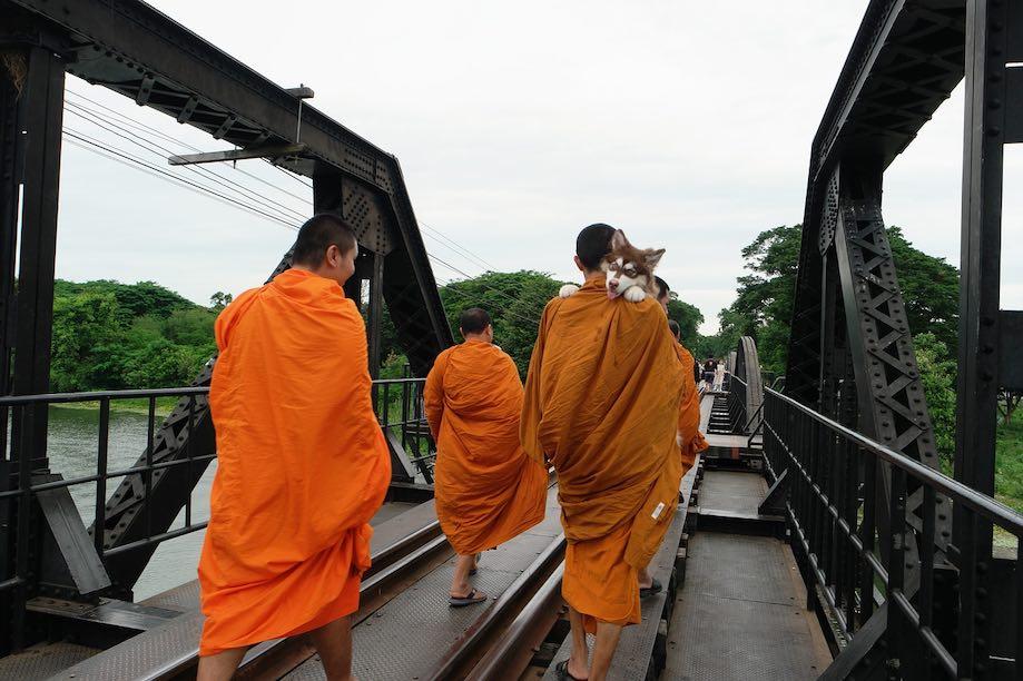 Kanchanaburi - Turismo na Tailândia