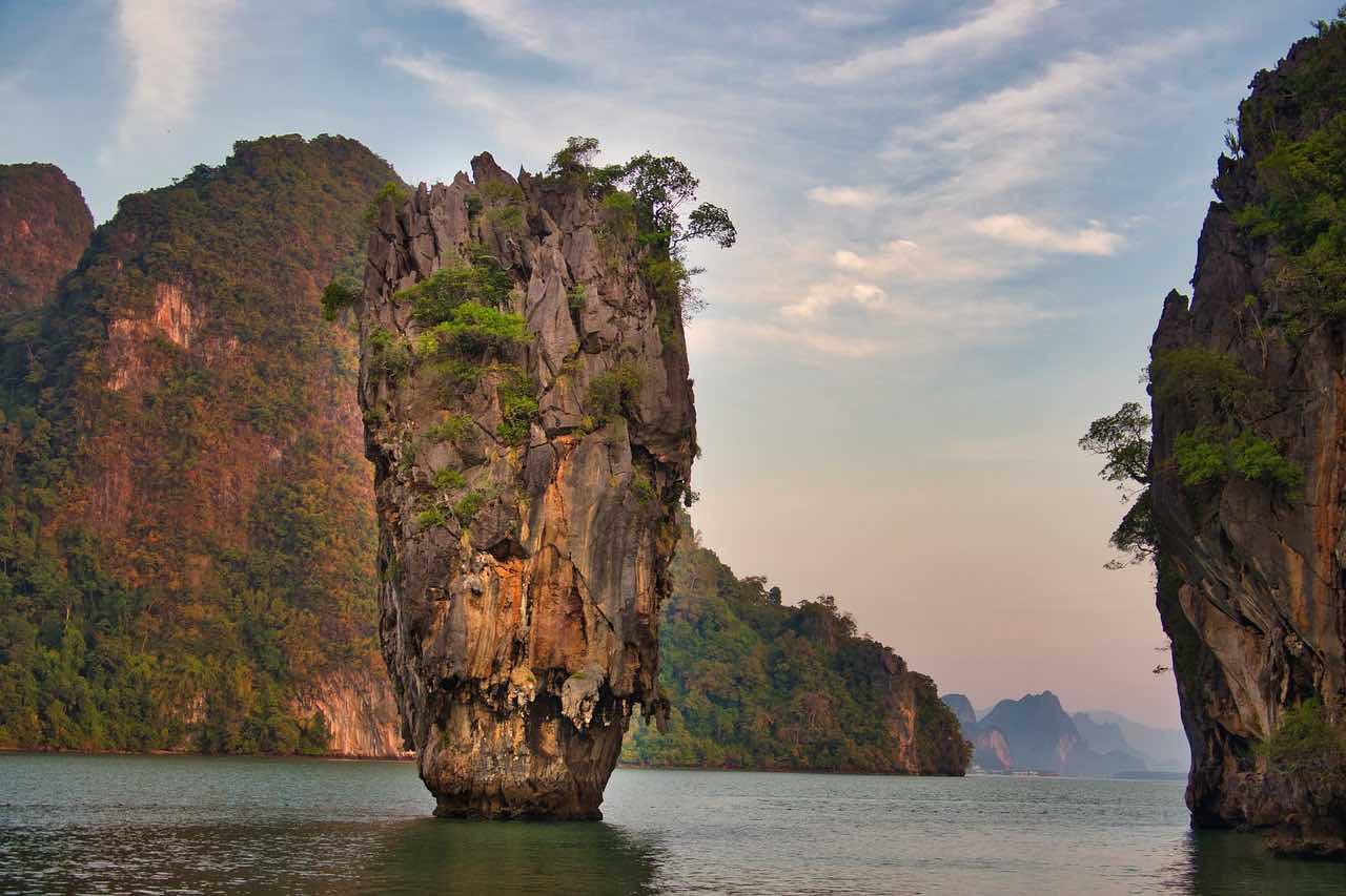 Turismo na Tailândia - James Bond Island