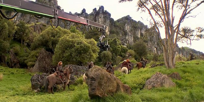 Foto do Hobbit na Nova Zelândia