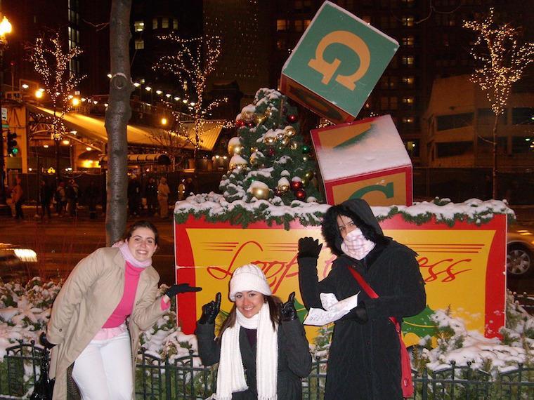 Natal em Chicago, Estados Unidos