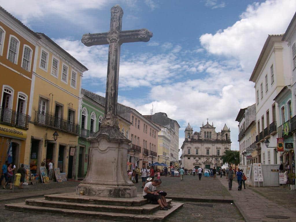 Pelourinho em Salvador Bahia
