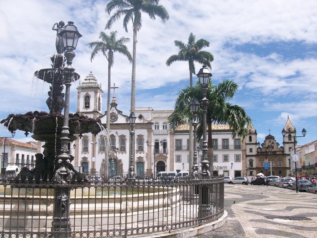 Pelourinho em Salvador Bahia Terreiro de Jesus