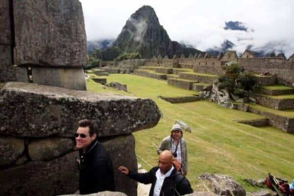 Jim Carrey no Peru