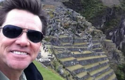 Jim Carrey visita o Peru