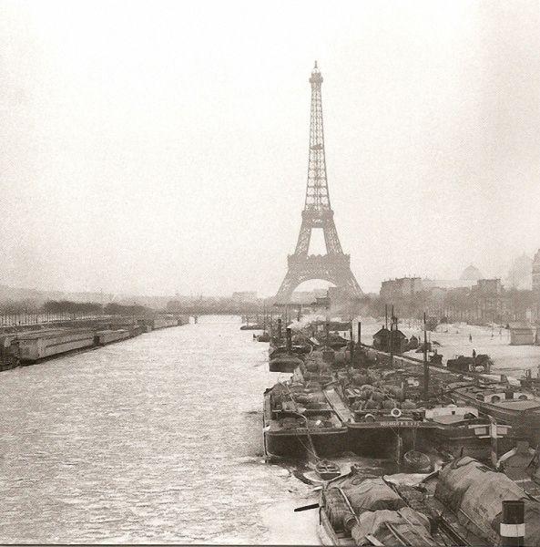 Foto antiga de Paris