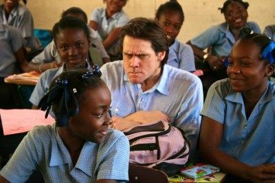 Jim Carrey no Haiti