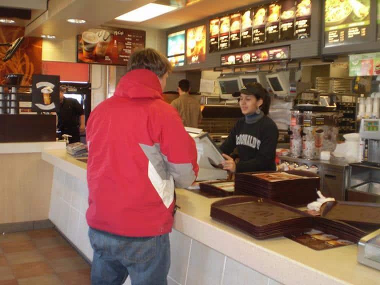 Work and Travel no McDonalds