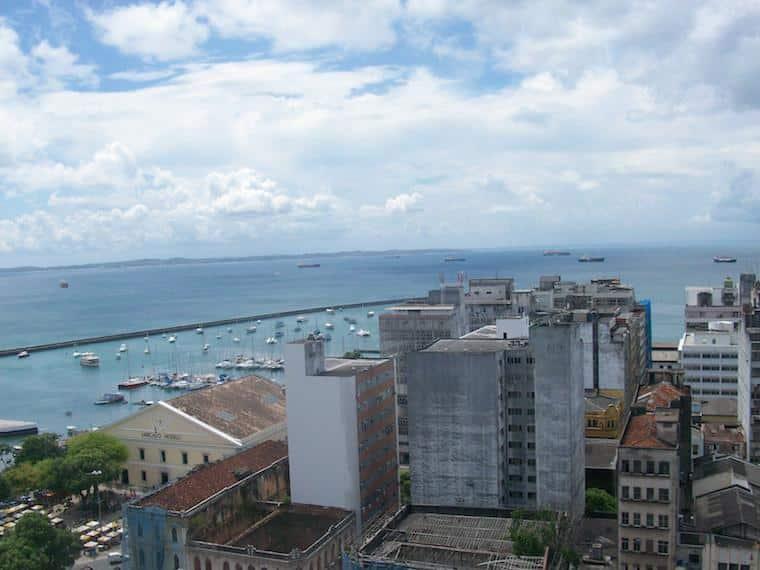 Vista Elevador Lacerda Salvador, Bahia