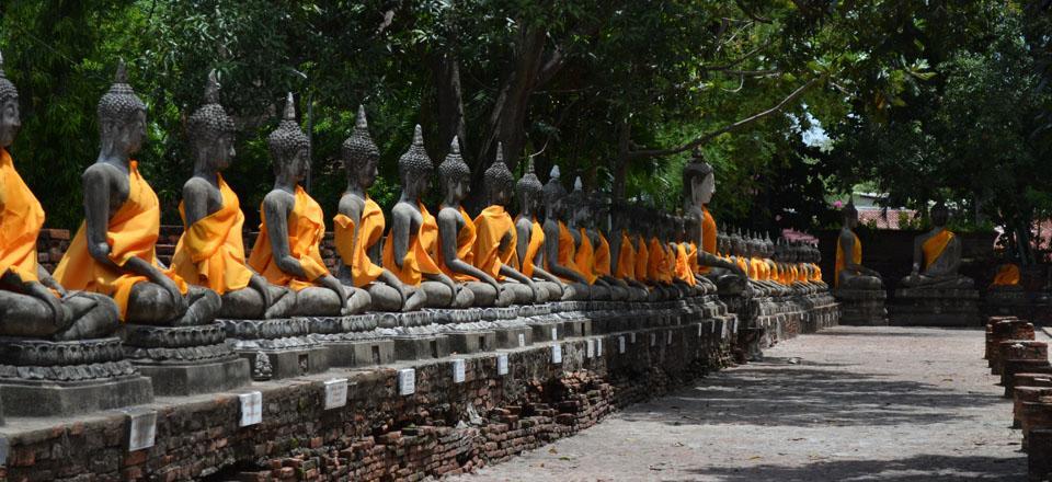 Ayuttaya, Tailândia.