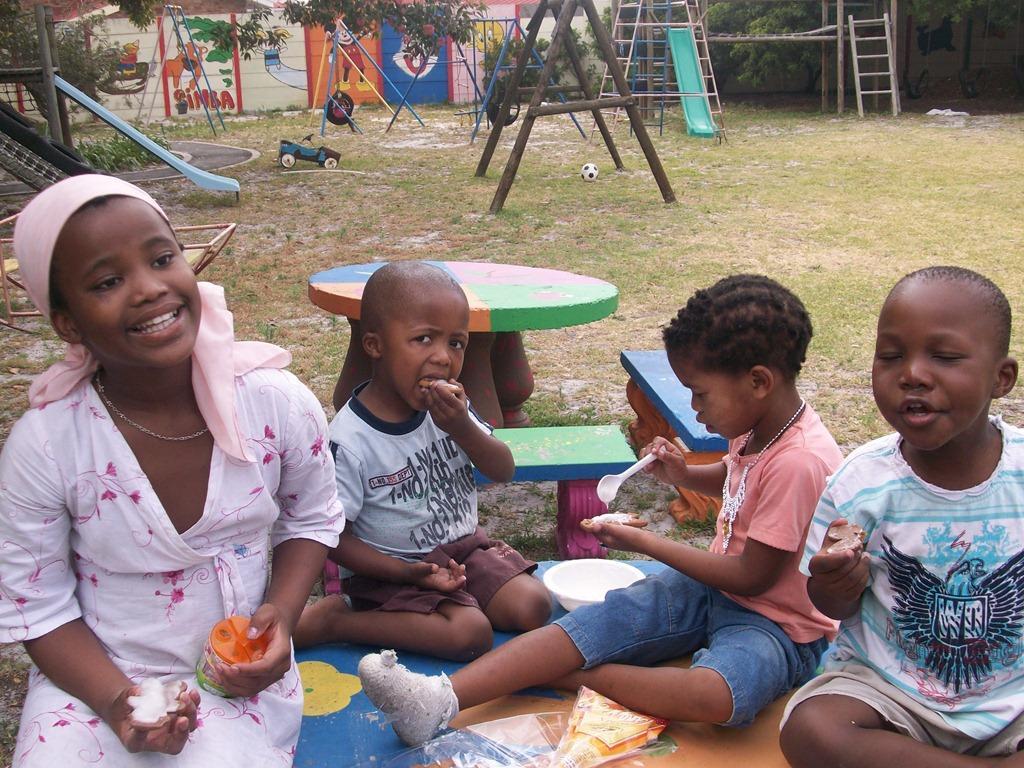 Crianças na África do Sul