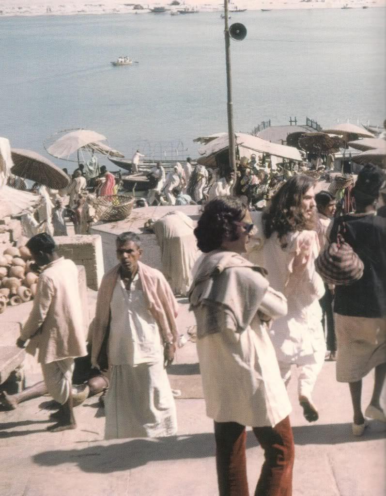 George Harrison em Varanasi