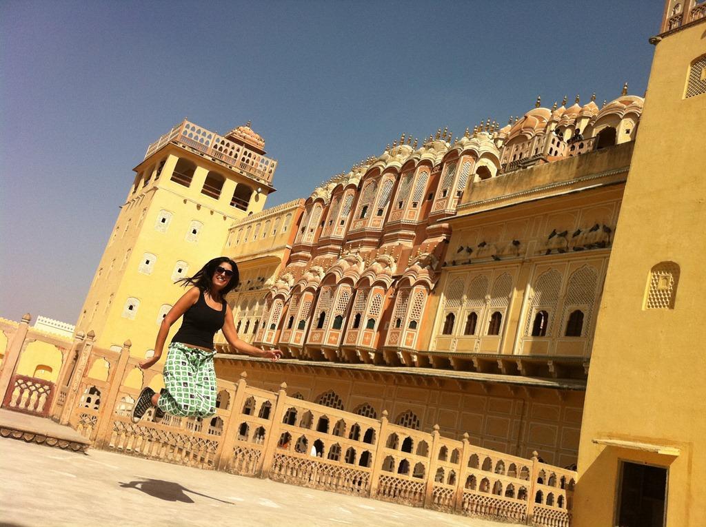 Naty em Jaipur