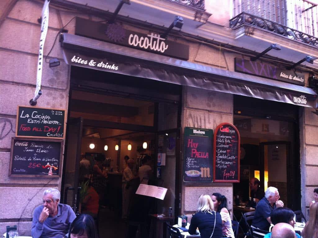 Restaurante em Madrid Espanha