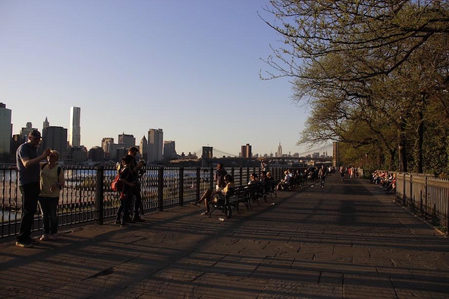 Nova York barato: Brooklyn Promenade